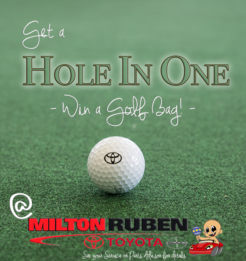 Get Ready For The Master S At Milton Ruben Toyota With Our