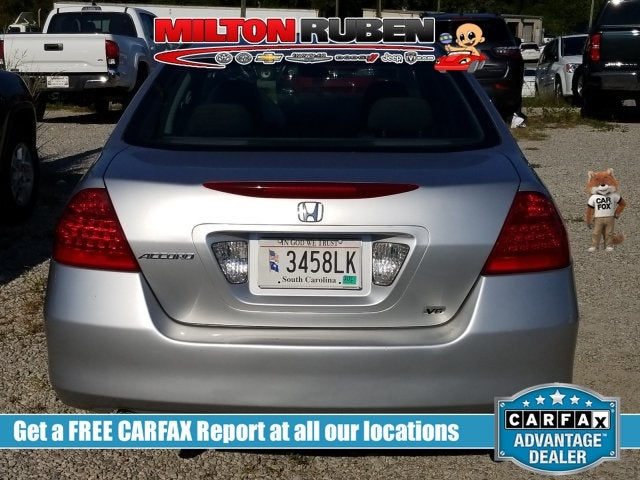 2006 Honda Accord Sedan LX V6 Automatic In Augusta, GA   Milton Ruben Toyota
